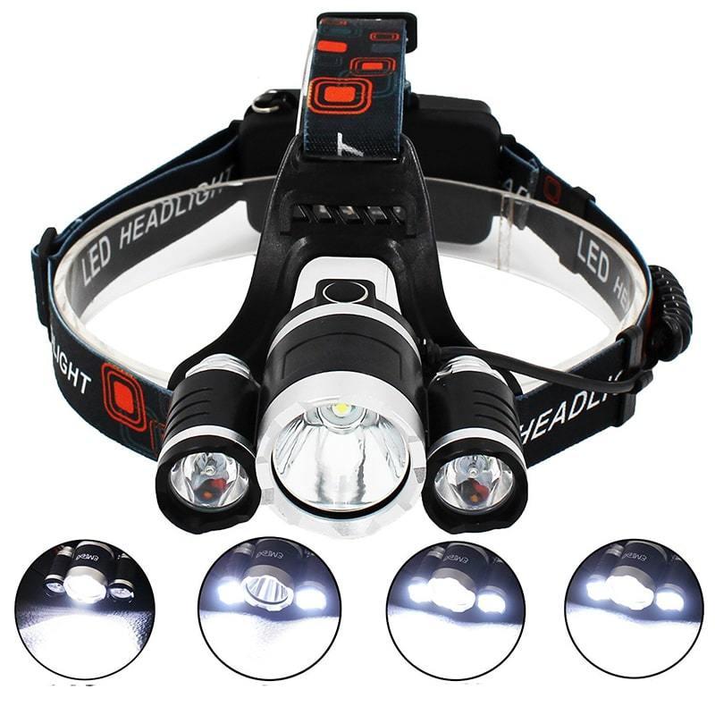 Фонарь налобный аккумуляторный High Power Headlamp