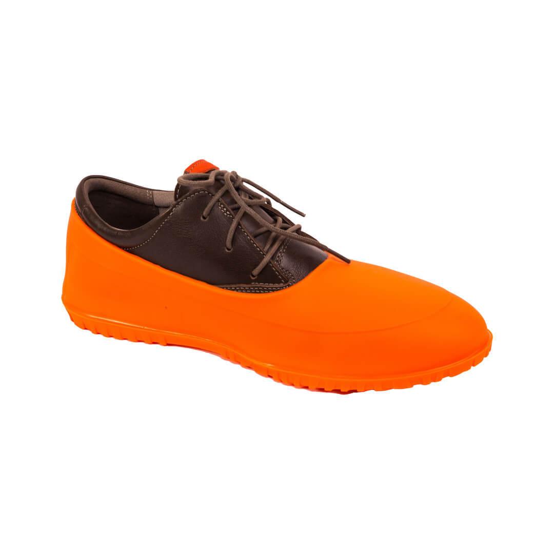 Галоши закрытые оранжевые