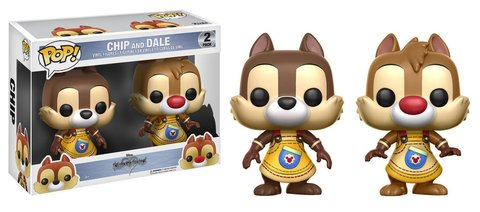 Фигурка Funko POP! Vinyl: Games: Kingdom Hearts: 2PK ChipDale 12366