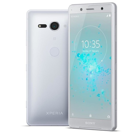 Смартфон Sony Xperia XZ2 Compact серебристого цвета