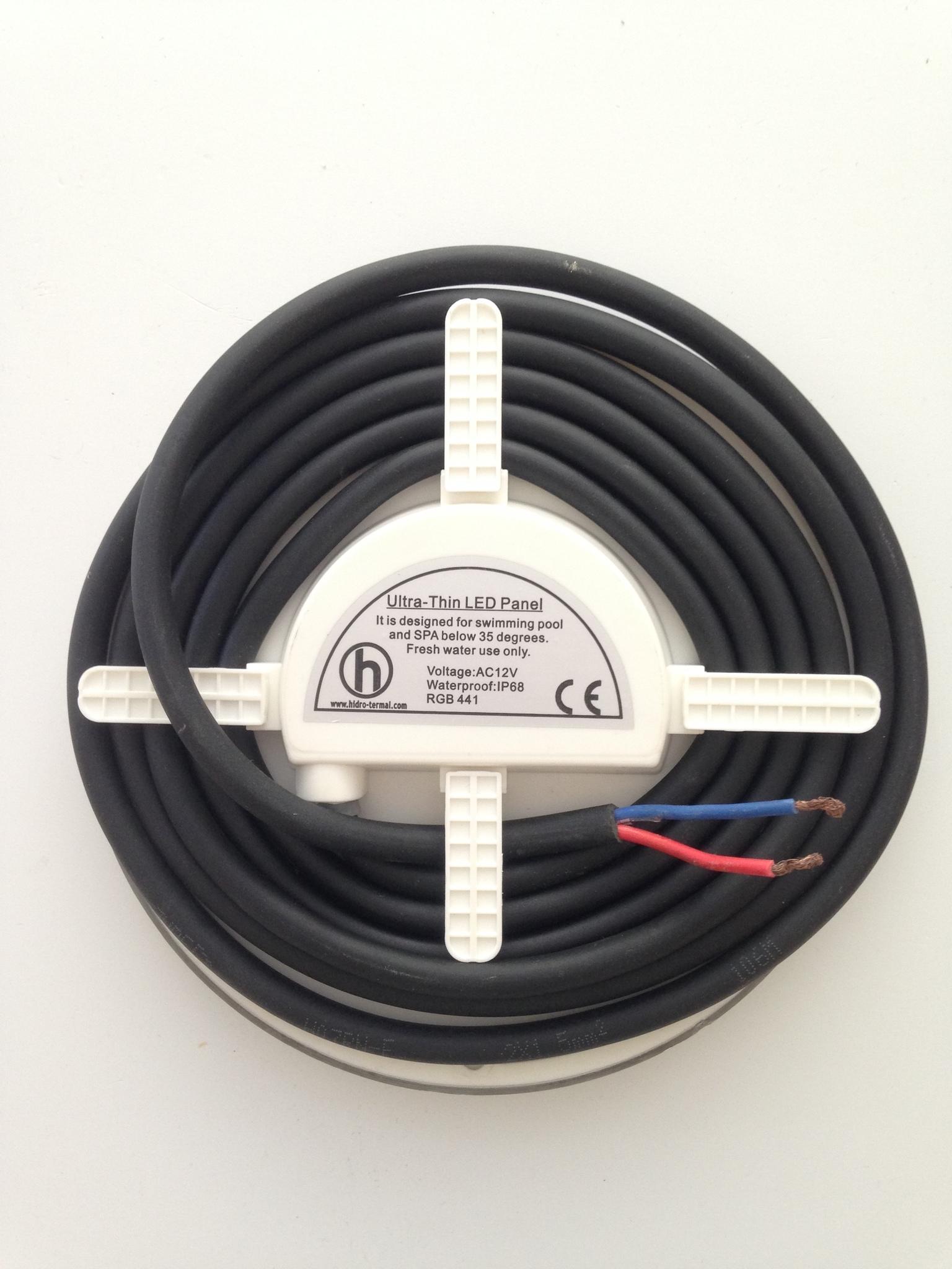 HT Лампа для бассейна плоская (35Вт, 12В, 441LED, RGB, креп. PAR56)