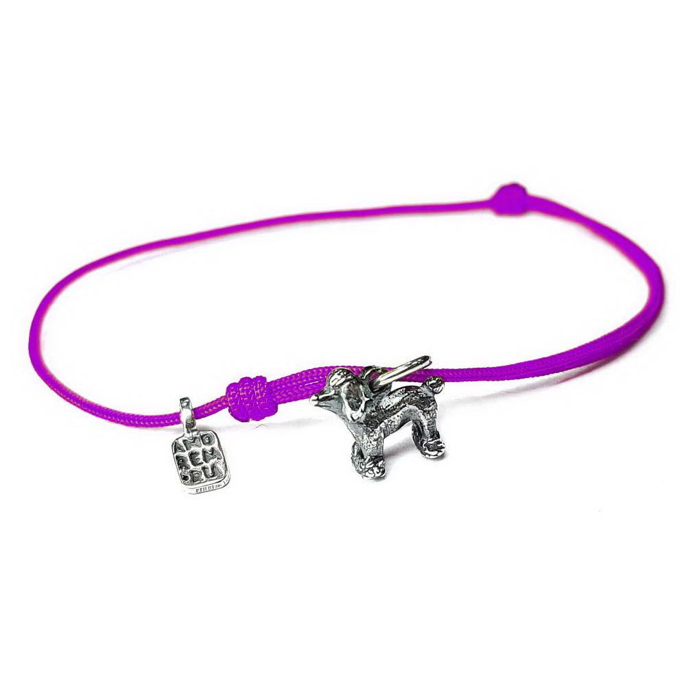 Poodle Bracelet, sterling silver