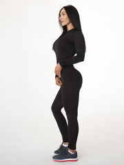 Женские лосины Lion gym PERFECT SILHOUETTE black