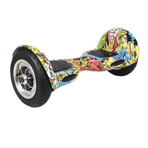 Гироскутер с 10 дюймовыми колесами Граффити