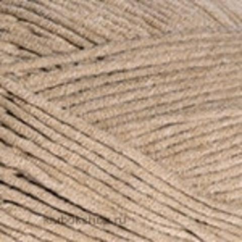 Пряжа Jeans PLUS YarnArt 48 Кофе с молоком - купить в интернет-магазине недорого klubokshop.ru