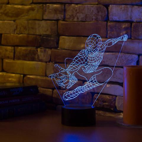Лампа Человек паук #2