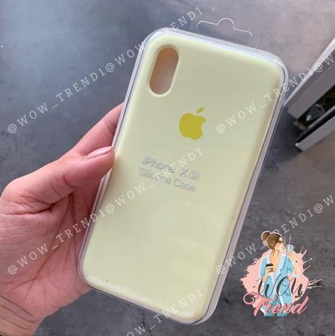 Чехол iPhone XR Silicone Case Full /mellow yellow/ волшебно-желтый