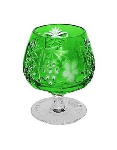 Фужер для бренди 300мл Ajka Crystal Grape зеленый
