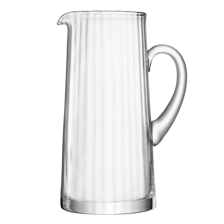 Кувшин LSA International Aurelia 1.9 л G261-68-776Новинки<br>Добавьте изысканности вашей сервировке с кувшином для воды и освежающих напитков Aurelia. Он прекрасно подойдет для сервировки лимонадов и воды со льдом и мятой. Комбинируйте его с бокалами, стаканами и другими предметами из коллекции Aurelia, чтобы создать завершенную композицию.&amp;nbsp,&amp;nbsp,Кувшин упакован в красивую коробку и станет особенным подарком на памятную дату. Объем 1,9 л.<br><br>Предметы коллекции Aurelia выполнены из прозрачного выдувного стекла. Особенности коллекции — тонкие грани и удлинённые ножки бокалов, создающие необычный оптический эффект за счёт игры света. Изысканная и утончённая Aurelia — идеальный выбор для торжественных и официальных мероприятий.<br><br>Изделия из выдувного стекла рекомендуется мыть вручную в тёплой мыльной воде и вытирать насухо мягкой тканью. Иногда в готовом изделии из выдувного стекла встречаются пузырьки воздуха — это нормально и вполне допускается технологией ручного производства. Такие пузырьки воздуха внутри не являются браком.<br>