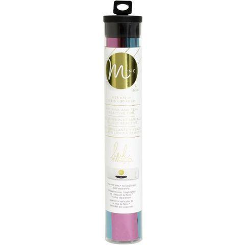 Тонерочувствительная фольга для MINC от Heidi Swapp- Teal & Hot Pink