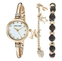 Женские наручные часы Anne Klein 2840LBDT в наборе