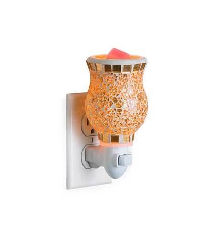 Аромасветильник розеточный Позолоченное стекло, Candle Warmers