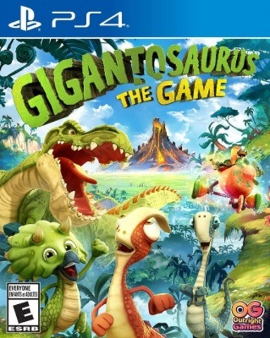 PS4 Gigantosaurus: The Game (русская версия)