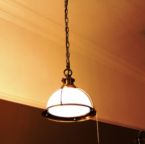 brass pendant 01-67  ( BRITISH LIGHTS)