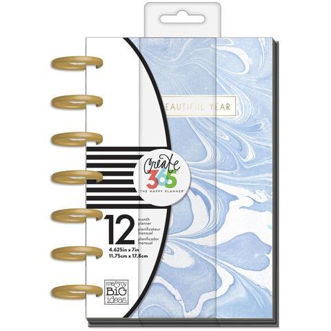 Ежедневник Create 365 Mini Planner 12,5х18см -Modern Marble