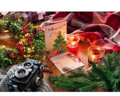 9919  Открытка новогодняя объемная «С Новым Годом!»