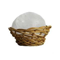 Кристалл свежести 55 гр СОЛО-К в кокосовой корзинке и пластиковой коробочке