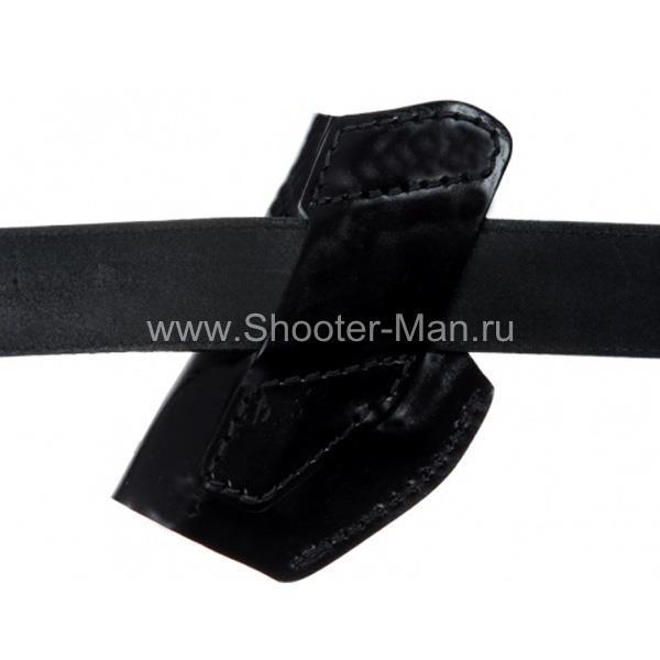 Кобура кожаная поясная для пистолета Tanfoglio INNA ( модель № 17 ) Стич Профи