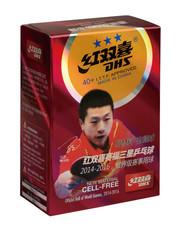 Пластиковые мячи DHS ITTF *** 40+ ,6 шт.