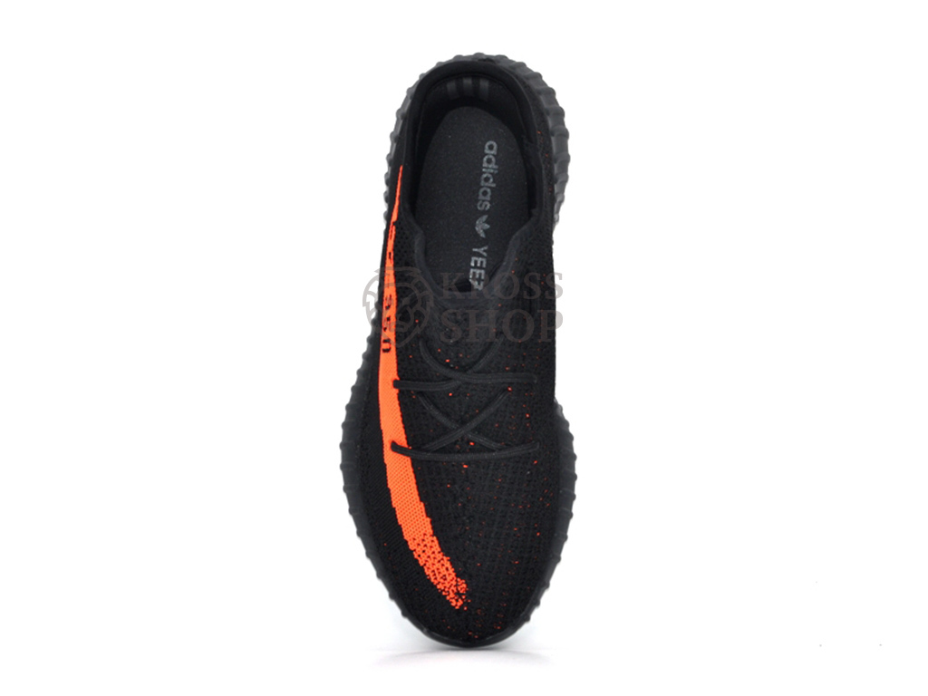 Adidas Yeezy Boost 350 V2 Men's Black/Orange