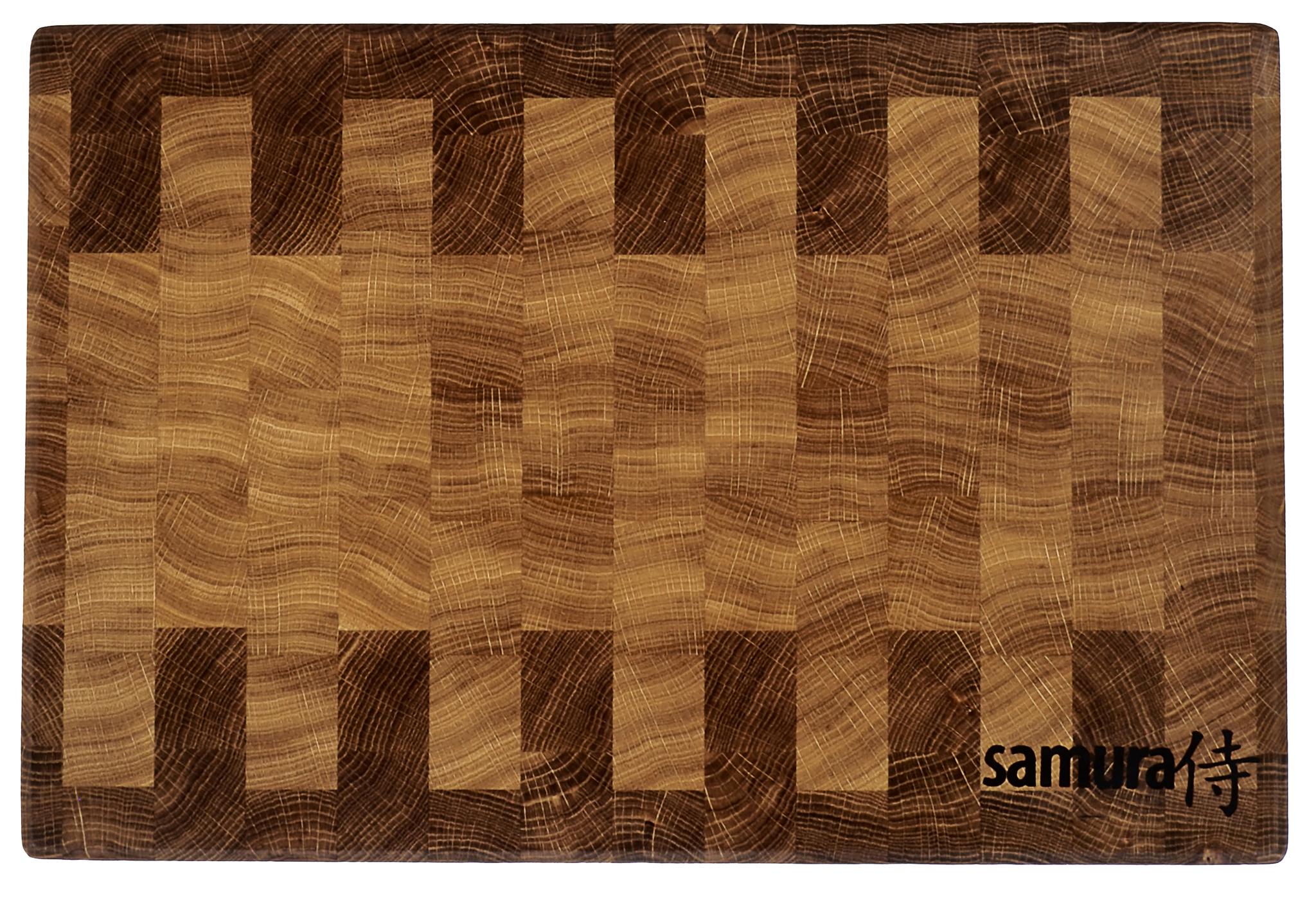 Разделочная доска торцевая 45х30х4,5см Samura SCB-02Разделочные доски Samura<br><br>