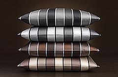 Наволочка 70x70 Elegante Stripe серебро