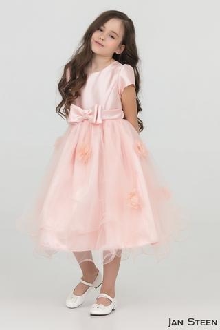 Нежное розовое платье (арт.DG160)