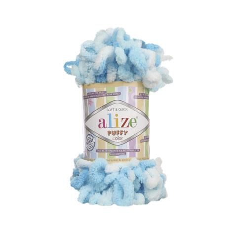 Купить Пряжа Alize Puffy Color Код цвета 5924 | Интернет-магазин пряжи «Пряха»