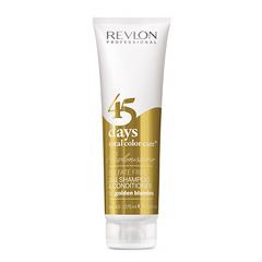 Revlon Professional Shampoo&Conditioner Golden Blondes - Шампунь-кондиционер для золотистых блондированных оттенков