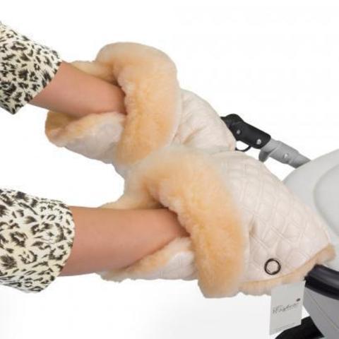 Муфта - рукавички для коляски Esspero Carina (100% овечья шерсть)
