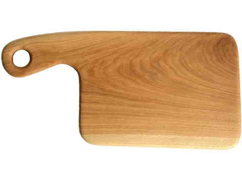 деревянная разделочная доска из дуба