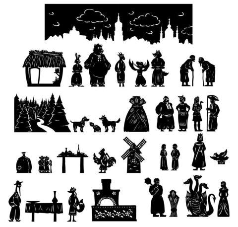 Комплект Українські народні казки