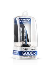 Ксеноновая лампа D3S VIPER (+80%) 6000к.