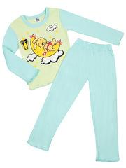 Z003-2 комплект для девочек (джемпер, брюки), салатовый