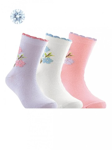 Детские носки Tip-Top 7С-45СП (со стразами и люрексом) рис. 087 Conte Kids