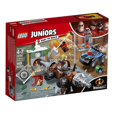 LEGO Juniors: Подрывашкин грабит банк 10760 — Underminer Bank Heist — Лего Джуниорс Подростки