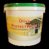 Защитное покрытие для дерева Oliva ProtectWood Акрилит-102