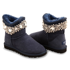 UGG & Jimmy Choo Crystal Navy