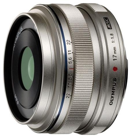 Olympus 17mm f/1.8 Silver