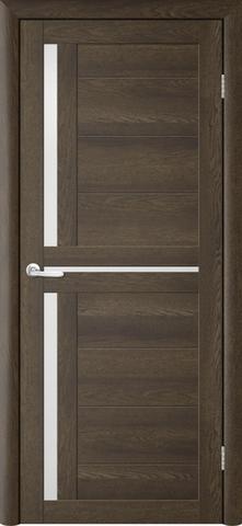 Дверь TrendDoors TDT-5, стекло белое матовое, цвет дуб оксфорд, остекленная