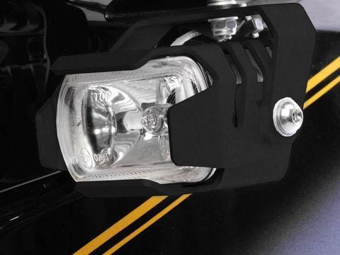 Комплект доп.света Micro Flooter BMW K1200/1300GT черный