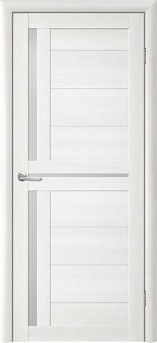 Дверь TrendDoors TDT-5, стекло белое матовое, цвет лиственница белая, остекленная