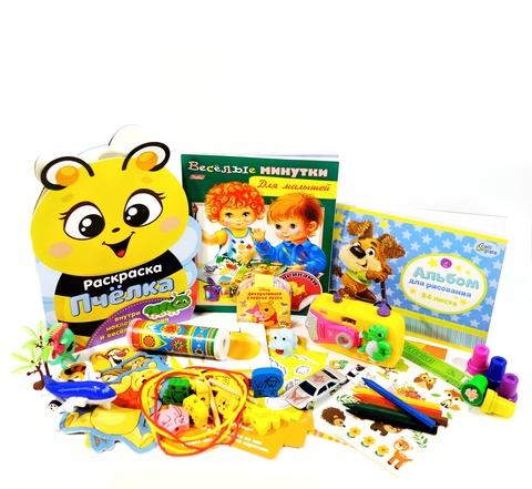 Большой набор в путешествие для детей 1-3 года