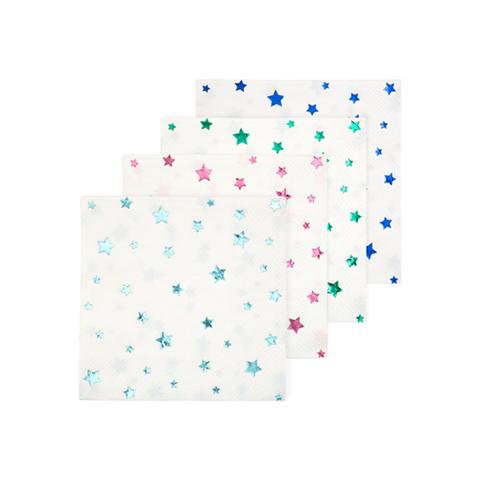 Салфетки со звёздами