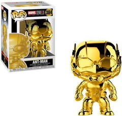Funko - POP Marvel: MS 10 - Ant-Man (Chrome) Brand New In Box