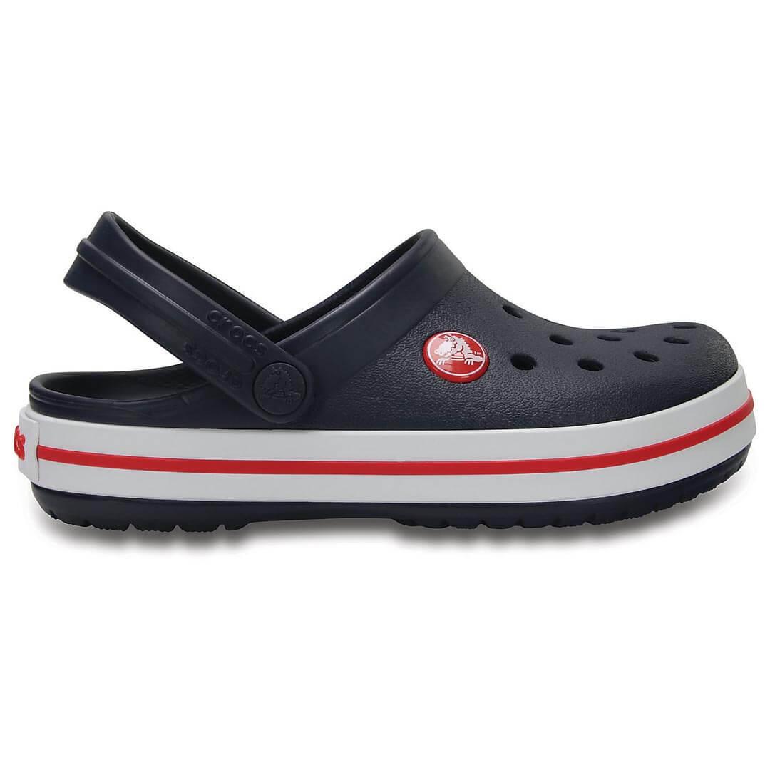 Сабо детские Crocs Crocband Navy Red