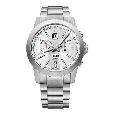 Купить Мужские наручные швейцарские часы Cover Co155.ST2M по доступной цене