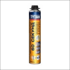 Пено-клей Tytan Professional 60 СЕКУНД (белый)