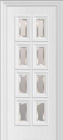 Межкомнатная дверь Nica 12.8 под стекло