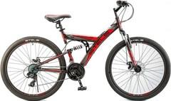 Велосипед STELS Focus MD 21 Sp 26 V010 (2018) Чёрный/красный